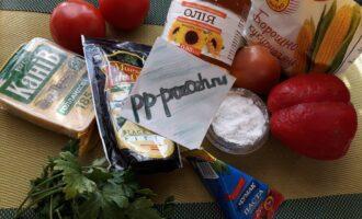 Шаг 1: Подготовьте ингредиенты для теста и  начинки.