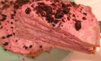 Блинный пп торт