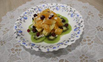 Фруктовый пп салат