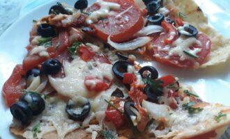 ПП пицца на тонком тесте