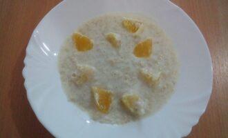 ПП каша овсяная с апельсином
