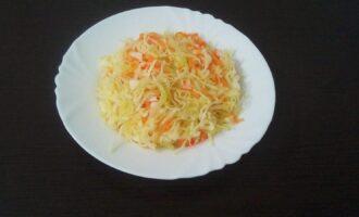 Маринованная пп капуста с морковью