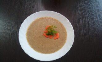 ПП суп-пюре из фасоли