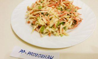 ПП салат из моркови