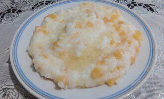 Рисовая пп каша с тыквой