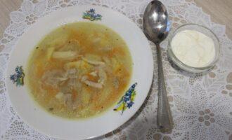 Куриный пп суп с вермишелью