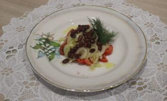 ПП салат с консервированной фасолью