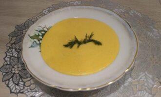 ПП суп-пюре из моркови с рисом