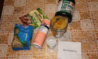 Шаг 1: Подготовьте ингредиенты: рис, соль, специи, кокосовое масло.