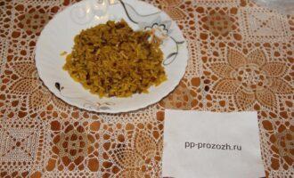 Шаг 7: Рис готов, приятного аппетита!