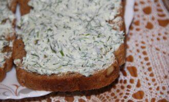 ПП сэндвичи с сербской брынзой, зеленью и тыквенными семечками