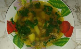 ПП суп с зеленым горошком
