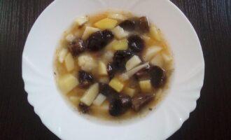Грибной пп суп