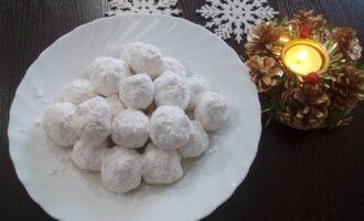 """Новогоднее пп печенье """"Снежки"""""""