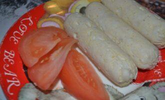 ПП сосиски из куриной грудки
