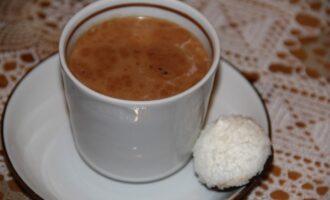 Горячий пп шоколад с бадьяном и мёдом