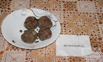 Шаг 7: Мясные шарики готовы, приятного аппетита!