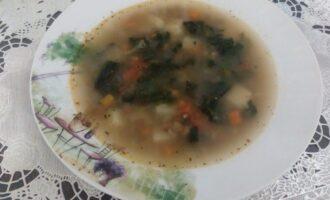 Шаг 9: Суп с чечевицей и шпинатом готов. Приятного аппетита!