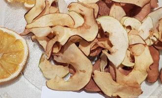ПП чипсы из яблок