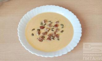 Сливочный ПП крем-суп из тыквы