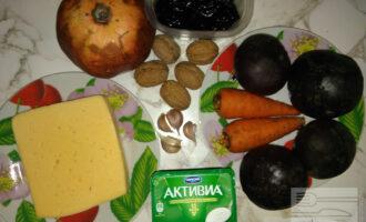 Шаг 1: Подготовьте необходимые ингредиенты. Свеклу предварительно отварите.