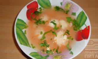 Рисовый суп с фрикадельками ПП