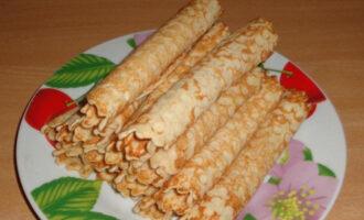 Вафельные ПП трубочки без сахара