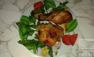 Куриные окорочка в медово-горчичном соусе ПП