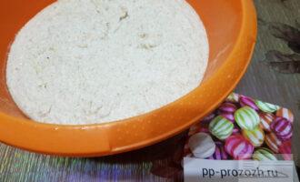 Шаг 5: Перелейте получившееся тесто в миску.