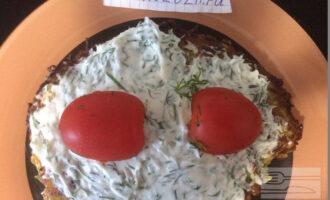 Кабачковый торт ПП