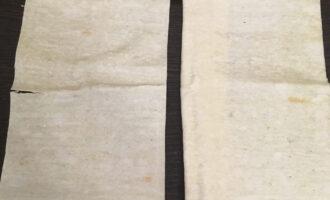 Шаг 2: Разрежьте лист лаваша на несколько частей. Чем тоньше, тем меньше будет конвертик.