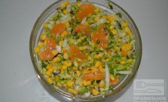 ПП салат в японском стиле