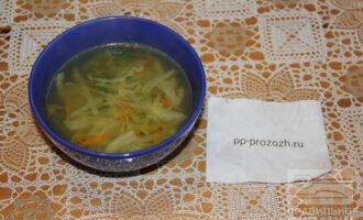 Шаг 11: Суп готов, приятного аппетита!