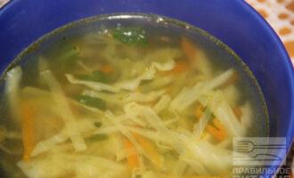 ПП щи из белокочанной капусты и шпината