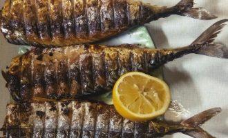 Шаг 6: Вот такая аппетитная  рыбка у меня получилась. Аромат костра возбуждает аппетит.