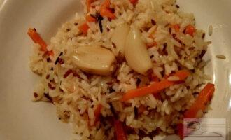 Плов c овощами - 4 вида риса