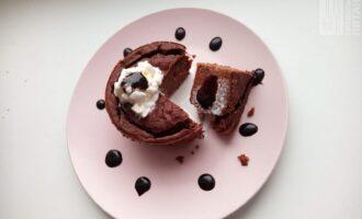 Шоколадно-банановый кекс ПП
