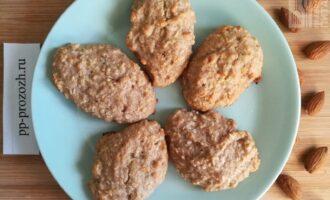 Овсяное ПП печенье с кокосовой стружкой