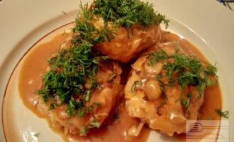 ПП котлеты из куриного филе с капустой