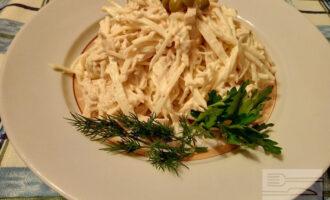 ПП салат из куриного филе с сельдереем