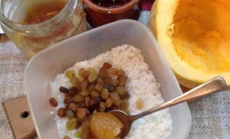 Шаг 4: Добавьте к рису мед.