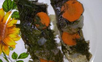 ПП карп с овощами на пару