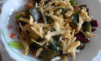 ПП салат из 3х видов фасоли