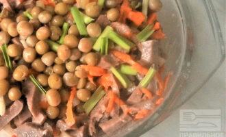 ПП салат с говяжьим языком