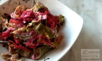 Острый куриный ПП салат