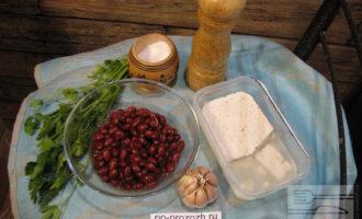 Шаг 1: Подготовьте ингредиенты, помойте зелень.