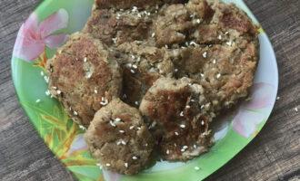 ПП оладьи из баклажанов с сыром