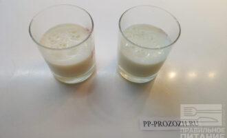 Шаг 5: Наполните стаканы получившейся смесью.