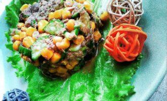 ПП салат с тунцом и кукурузой