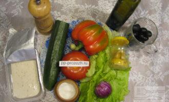 Шаг 1: Подготовьте ингредиенты, вымойте овощи.